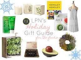 foodie gifts lpn s 2014 gift guide part ii gifts for the healthy