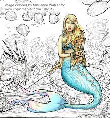 markers art posters u0026 mermaid