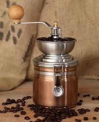 Hand Crank Coffee Grinder Mason Jar La Cafetiere Copper Coffee Grinder Manual Coffee Bean Mill