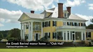 oak hall historic virginia waterfront country estate for sale