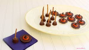 halloween hats easy halloween treats witch hats and brooms