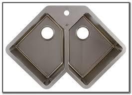 stainless corner sink extraordinary undermount corner kitchen sinks stainless steel canada
