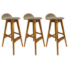 danish bar stools sculptural mid century danish barstools rosewood and teak by erik