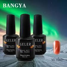 nail art set uv cat eye gel nail 15ml 40 colors mood nail polish