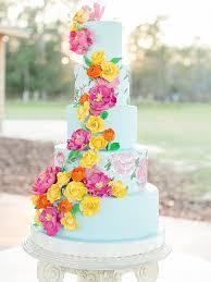 wedding cake flower 16 prettiest sugar flower wedding cakes