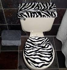 zebra bathroom decorating ideas anythinganimals com print toilet seat covers zebra seat
