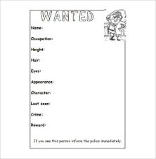 wanted poster template sailor wanted poster template ks1 pdf