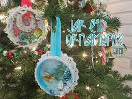 chic and cheap jar lid ornaments