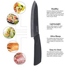 stay sharp kitchen knives coiwin kitchen cutlery white ceramic knife with sheath