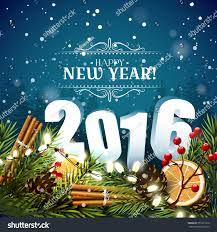 new year traditional decorations happy new year 2016 traditional decorations stock vector 351273170