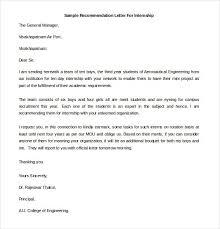 25 recommendation letter templates u2013 free sample format