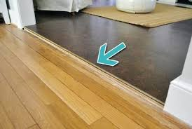 floor transitions for uneven floors tile to wood floor transition