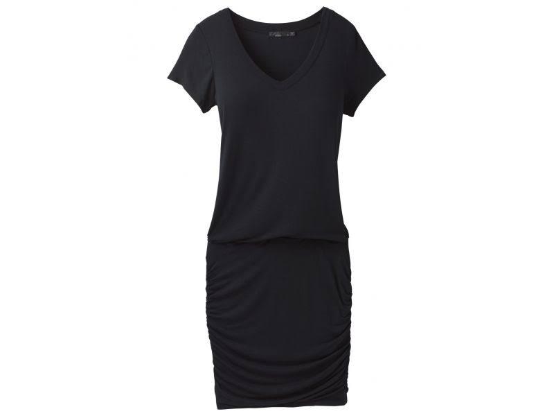 prAna Foundation Dress Black XSmall W31180370-BLK-XS