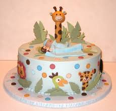 jungle baby boy cake sweet art pinterest baby shower cakes