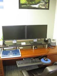 how i setup my office desk to be ergonomically correct todd