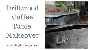 drift wood coffee table makeover hey there delyla