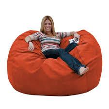 Bean Bag Furniture by Bean Bag Chair Large 5 Foot Cozy Sack Premium Foam Filled Liner