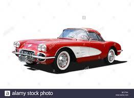 1960 chevrolet corvette 1960 chevrolet corvette convertible stock photo royalty free