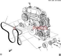 12593774 saab belt with pmp u0026 ac compressor u0026 gen u0026 power