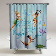 Tinkerbell Bathroom Best Disney Shower Curtain Products On Wanelo