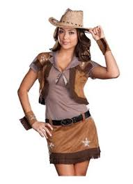 Cowgirl Halloween Costumes Girls Cowgirl Halloween Costume Small Women Western Scout Dress