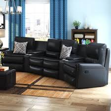 Curved Leather Sofas Curved Sectional Sofas You U0027ll Love Wayfair