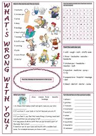 thanksgiving vocabulary words 42 free esl health problems worksheets