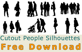 free silhouette images cutout person and people silhouette free download photoshop