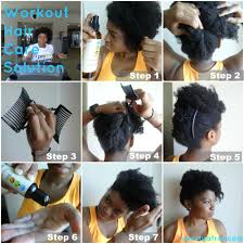 easy and simple workout hair care solution the 5 minute updo