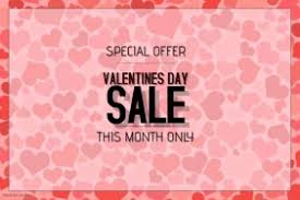 valentines sales customizable design templates for valentines day sale postermywall
