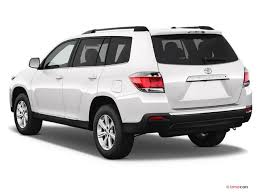 toyota highlander 2012 used 2013 toyota highlander specs and features u s report
