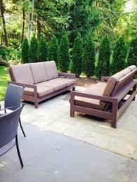 how to build a diy modern outdoor sofa modern outdoor sofas