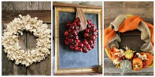 fall crafts to decorate home home decor