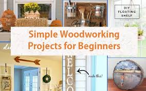 top 25 simple woodworking projects for beginners