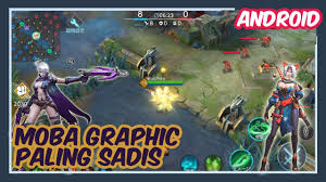 best graphic mobile moba war song ウォーソング gameplay