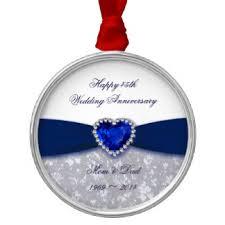 Anniversary Ornament 45th Wedding Anniversary Christmas Tree Decorations U0026 Ornaments