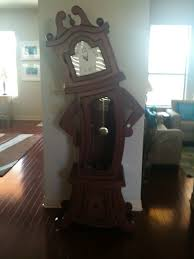 unique grandfather clock by straight line designs horrific finds
