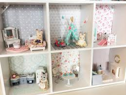 Modern Dollhouse Furniture Diy Darling Diy Calico Critters House From The Reinvented Housewife