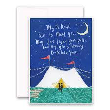 greeting cards light your path greeting card curly girl design