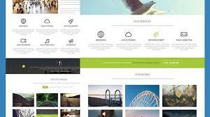 html5 website template free 27 best corporate html5 website templates