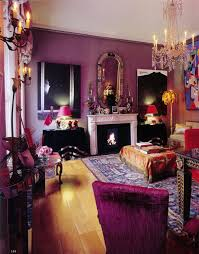 21 living room purple purple living room design 3d rendering 3d