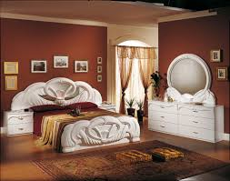 Italian Furniture Bedroom Sets And Carry Beds Giada White 6 D Bedroom Set