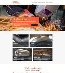 membuat website bootstrap welding website template