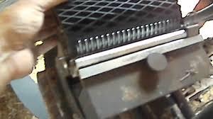 belt lacing on john deere baler youtube