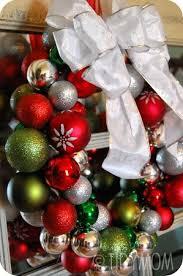 glass ornament wreath tutorial