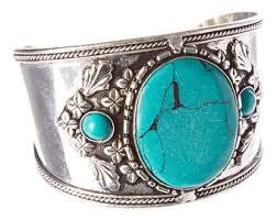 vintage turquoise bracelet images Turquoise cuff etsy jpg
