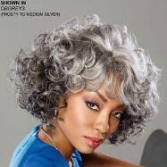 human hair in salt and pepper salt and pepper curly hair wigs discount wig supply
