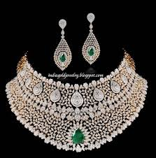 big necklace sets images Latest indian gold and diamond jewellery designs bridal diamond jpg