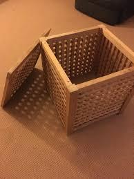 Ikea Storage Boxes Wooden Wooden Ikea Storage Box In Ammanford Carmarthenshire Gumtree