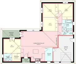 plan de maison 4 chambres gratuit plan de maison de plain pied avec 4 chambres avie home